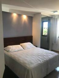Flat Life Resort mobiliado sem fiador (condomínio incluso)
