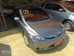 Honda civic lxs 1.8 (completo+gnv)entrada de 10mil + 48 x 508.00