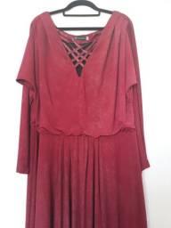 Vestido de festa DaniSalomão -Tam 50. Veste até 54 - *Preço Negociável-Não aceito troca