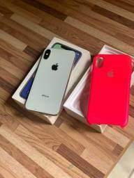 IPhone X Branco 256GB , (Vendo ou Troco)