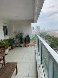 Apartamento com 4 dormitórios para alugar, 134 m² por R$ 5.500,00/mês - José Menino - Sant
