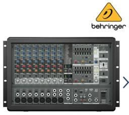 Mesa de Som Amplificada BEHRINGER PMP1680S -