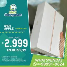 Ipad 7 GERAÇÃO ( COM 32GB, PRETO, GOLD, PRATA ) GARANTIA ( 365 DIAS )