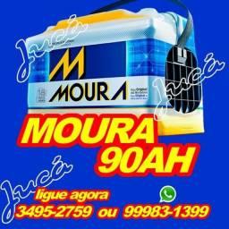 Bateria Moura 90 ah para Hilux