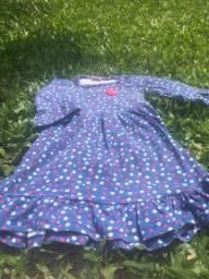 Vestido menina malha