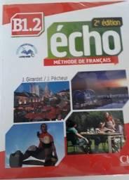 Echo B1.2 - Livre + Dvd-rom - 2e Edition - Livro Francês Nível B1.2 - Novo
