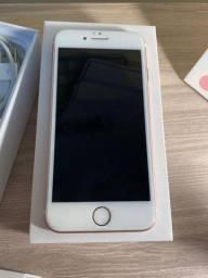 Apple IPhone 7 32GB Rose Gold muito conservado