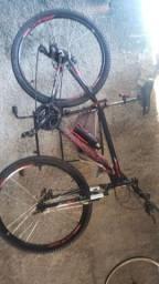 Bicicleta aro 29 cm raio inox