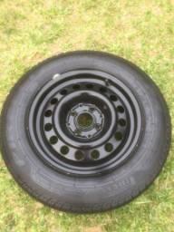 Aro 14 com pneu PIRELLi novo 175/70