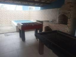 Casa com piscina, sinuca, quadra do mar