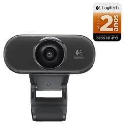 Webcam C210 Logitech Skype/Zoom/Windows 10 NOVA
