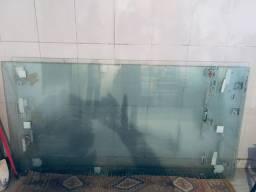 Vidro temperado para vitrine de loja 8 milímetros 5 peças 350