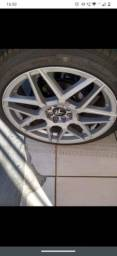 Vendo ou troco aro 18 pneus novos