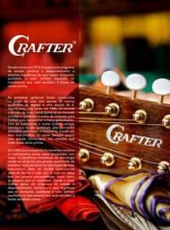 <br>Violão Crafter HD-100CE/OP Folk Cutaway