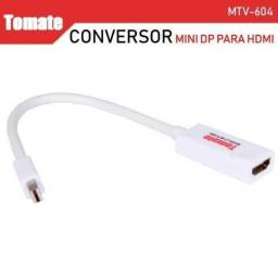 Cabo Mini DisplayPort x Hdmi Mtv-604 - Tomate