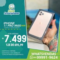 Iphone 11 PRO MAX ( 256GB ) 1 ANO DE GARANTIA ( TODAS AS CORES, ANATEL )