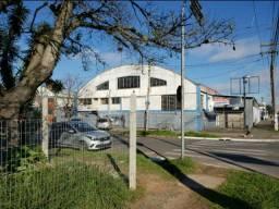 Pavilhão depósito Rua Morretes esquina Av. Sertório