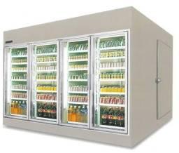 Câmaras Frigoríficas Visa cooler - ideal para supermercados