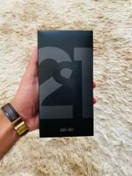 Galaxy S21+ 5G Preto, Novo, Lacrado, NF (Aceito Cartão)