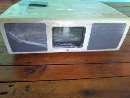 Rádio de mesa HI FI teac SR- L200i-W com dock para iPod