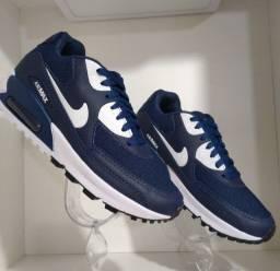 Tênis Nike Air Max Azul (Frete Gratis)