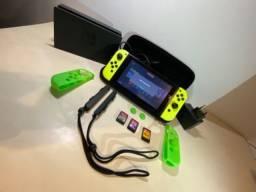 Nintendo Switch Ed. Especial Pokemon Lets Go!+ Jogos + Bolsa protetora Nintendo original