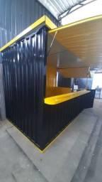 Container desmotalvel de lanches