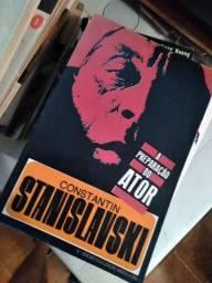 4 livros de Stanislavski em bom estado.
