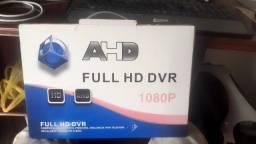 Kit Cftv de Segurança Full Hd 1080p 2 Mp Dvr 8 Canais hd 500Gb incluso