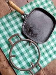 Chapinha de ferro - Bifeira para petiscos