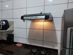 Depurador de Ar p/ fogão de 4 Bocas.