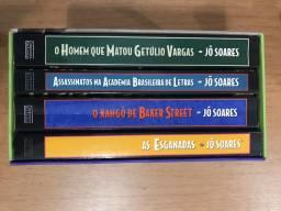 Box Jô Soares com quatro livros