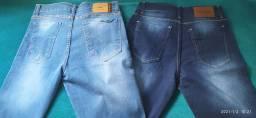Kit com  bermuda jeans + boné grátis.