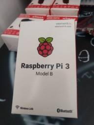 Kit Raspberry pi 3 + raspberry pi zero w + fontes + cartão de memória + brinde