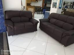 Conjuto de sofa 2 ,3 lugar
