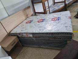 Box casal colchão de molas ensacadas separados tamanho 38cm