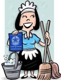 Empregada doméstica 3x por semana