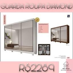 Guarda roupa Diamond 2289