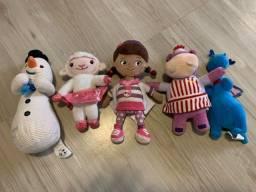 Combo de pelúcias Dra Brinquedos