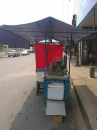 Vendo carrinho de merenda completa em boas condições e pronto para trabalhar