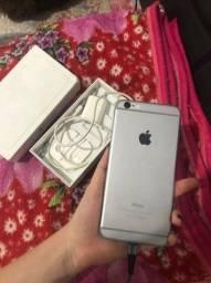 Vende um lindo iPhone plus 128 gb novinho carredor ZAP *