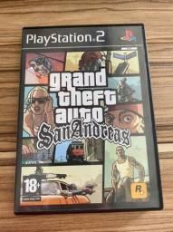 Jogo GTA San Andreas original PS2