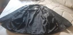 Jaqueta couro legítimo, usada poucas vezes , 150 reais  a vista, tamanho M