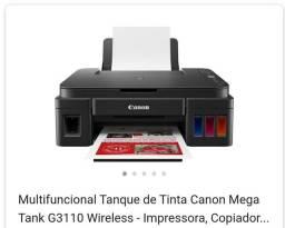 Impressora Multifuncional Canon G3110 (Nova) Jato de Tinta