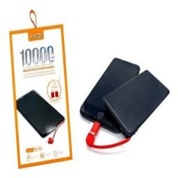 Power Bank 10.000mah Kaidi Original - Carregador Portátil Celular