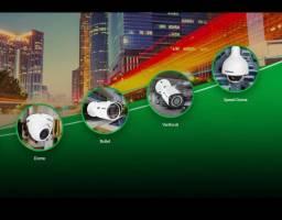 Câmeras, Cerca elétrica, Alarme, Motor p portão, Interfone