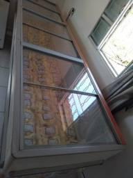 Freezer horizontal vidro