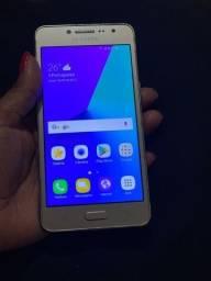 celular samsung j2 prime dourado negocio ou troca