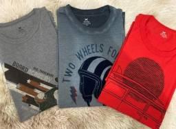 Lote de Camisas de Marca - TAM G