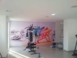Pintura Em Academia